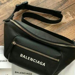 Balenciaga - バレンシアガ ウエストバッグ ウエストポーチ 黒