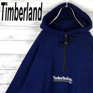 Timberland - ティンバーランド フリース パーカー ハーフジップ アノラック オーバーサイズ