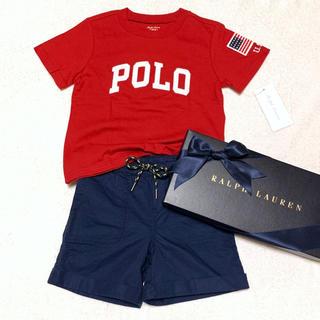 Ralph Lauren - 1セットのみ⑅︎◡̈︎* 新品✨18M/85 BOY Tシャツ&パンツ