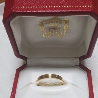 Cartier - カルティエリング/750トリニティ