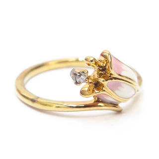エテ(ete)のエテ リング 指輪 9号 シルバー925 ダイヤモンド0.01ct ete(リング(指輪))