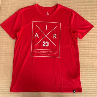 ナイキ(NIKE)のジョーダン Tシャツ レッド(Tシャツ/カットソー(半袖/袖なし))