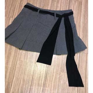 美品 CECIL McBEE スーツ素材 ミニスカート