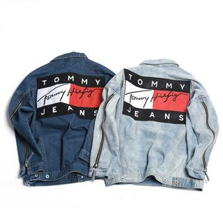 トミー(TOMMY)の[ライトブルー XXL]TOMMY トミー  デニムジャケット(Gジャン/デニムジャケット)