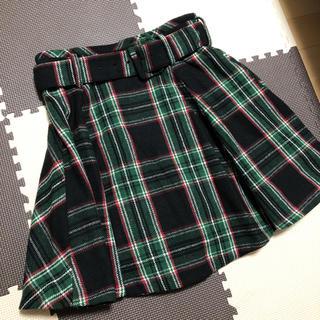 レディアゼル(REDYAZEL)のベルト付き チェック柄スカート(ミニスカート)