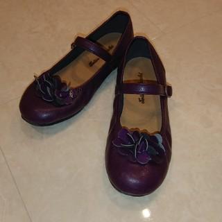 Tartine et Chocolat - 【タルティーヌエショコラ】女の子 ボルドー 靴