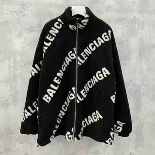 Balenciaga - BALENCIAGA ブルゾン ボア ジャケット 男女兼用