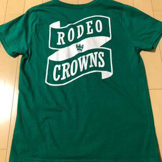 RODEO CROWNS - ロデオクラウンズ 緑 Tシャツ