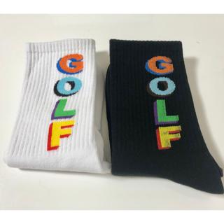 golfwang 3Dロゴ 2点売り 新品未使用