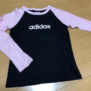 adidas - アディダス Tシャツ adidas ロンT 女の子 体育 スポーツ 運動 140