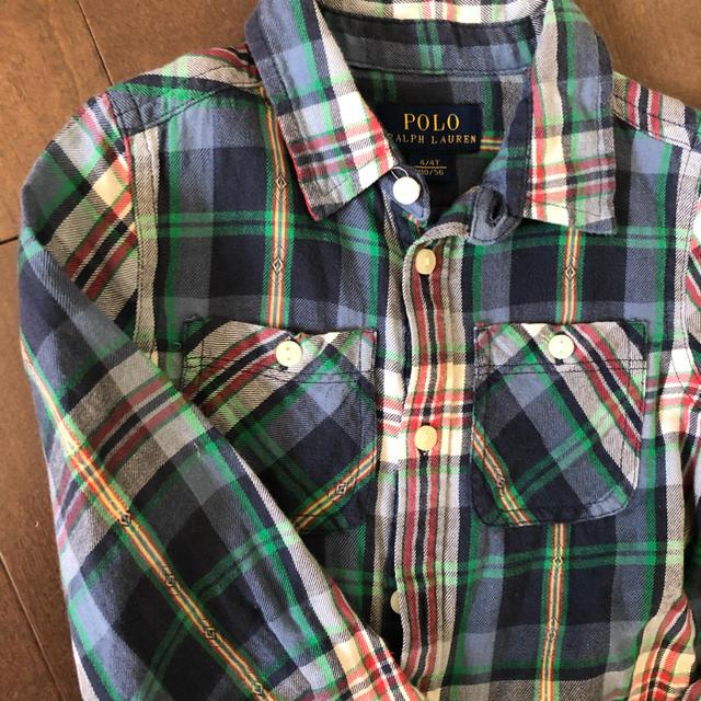 Ralph Lauren(ラルフローレン)のラルフ チェックワンピース キッズ/ベビー/マタニティのキッズ服 女の子用(90cm~)(ワンピース)の商品写真