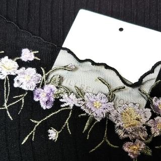WILLSELECTION - ウィルセレクション チュール刺繍プルオーバー