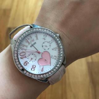 ゲス(GUESS)のGUESS レディース腕時計(腕時計)
