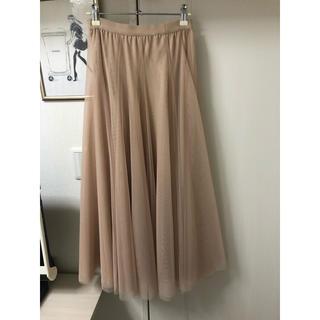 ザラ(ZARA)のセレクトショップ購入♡完売♡ボリュームチュールスカート♡新品未使用♡(ロングスカート)