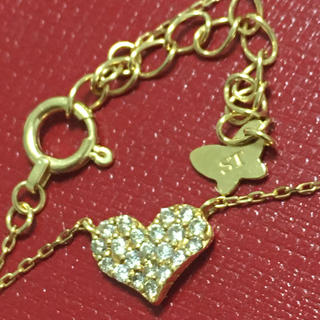 Samantha Tiara - サマンサティアラ k18 yg 18金 ダイヤモンド ハートリング 指輪