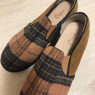 セポ(CEPO)のcepo チェック柄靴 今だけ値下げ!(スニーカー)