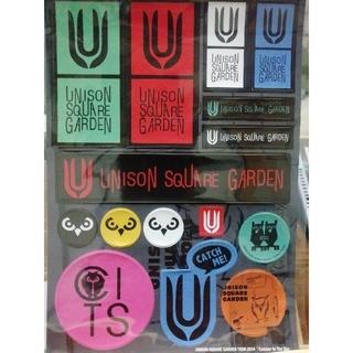 ユニゾンスクエアガーデン(UNISON SQUARE GARDEN)の【最終値下げ】ユニゾン ステッカー(ミュージシャン)