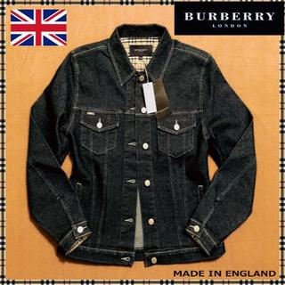 BURBERRY - バーバリーロンドン 定番デニムジャケット 新品未使用タグ付き9号~11号 英国製