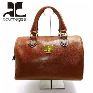 クレージュ(Courreges)のCourreges ★クレージュ★可愛い本革製バッグ!!(ハンドバッグ)