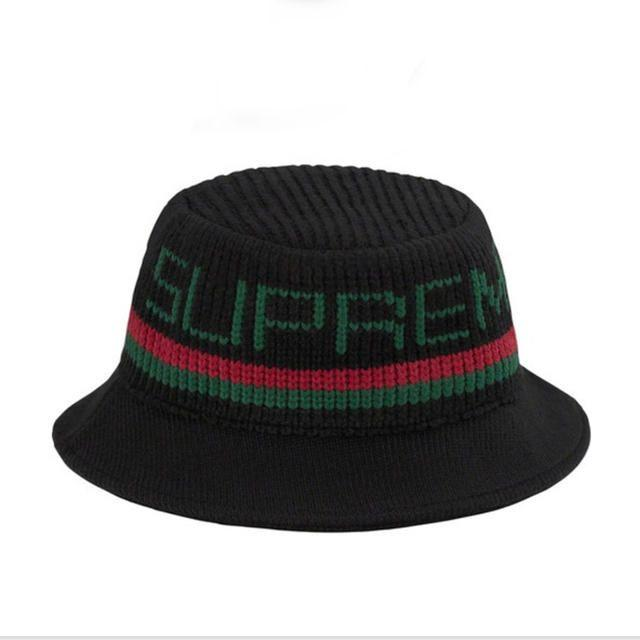 Supreme(シュプリーム)のM/L supreme Knit Logo Crusher メンズの帽子(ハット)の商品写真