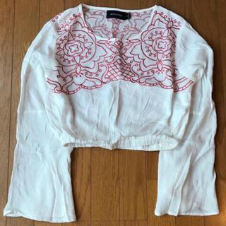 ミンクピンク(MINKPINK)のミンクピンク 刺繍ブラウス(シャツ/ブラウス(長袖/七分))