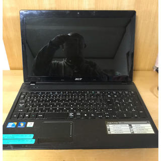 エイサー(Acer)のCore i3搭載!Windows7マシン!エイサー・ASPIRE 5742!(ノートPC)