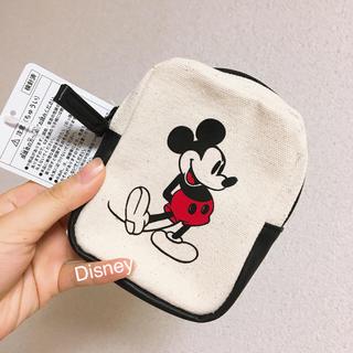 Disney - ディズニー ミッキー ポーチ 新品