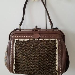 mina perhonen - 【レア】エバゴスebagos初期/ヴィンテージツィードがま口ハンドバッグ未使用