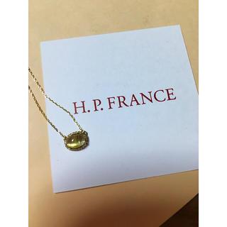 H.P.FRANCE - 11月20日まで🎄ルチルクォーツキャッツネックレス