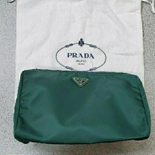 プラダ(PRADA)の新品未使用PRADAポーチ プラダポーチ 化粧ポーチ 旅行 アメニティ 小物入れ(ポーチ)