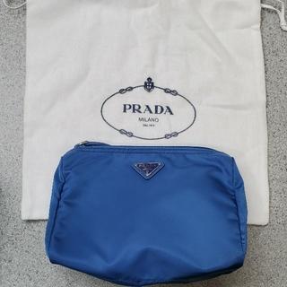 プラダ(PRADA)の新品未使用PRADAポーチ プラダポーチ 化粧ポーチ 小物入れ アメニティ 旅行(ポーチ)