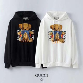 Gucci - [2枚9000円送料込み]GUCCIグッチ 長袖 パーカー 男女兼用