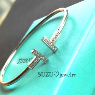 Tiffany & Co. - 大セール‼️池田エライザ、武井咲愛用バングル✨Tワイヤー‼️
