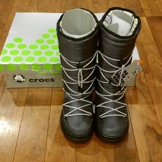 crocs - クロックス W4 スノーブーツ21~22ぐらい