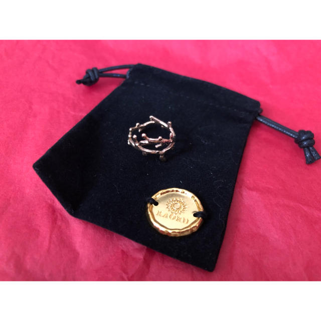 KAORU(カオル)のアトリエカオル 珊瑚リング レディースのアクセサリー(リング(指輪))の商品写真