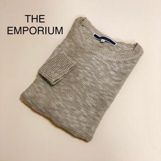 THE EMPORIUM - THE EMPORIUM ラメ入り ニット