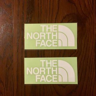 ザノースフェイス(THE NORTH FACE)のノースフェイス カッティングステッカー  2枚(その他)