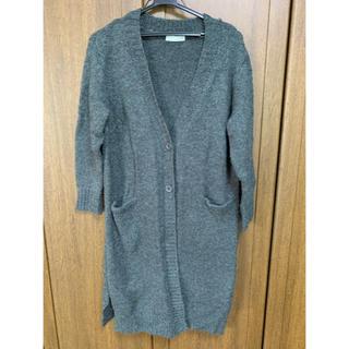 ショコラフィネローブ(chocol raffine robe)のchocol raffine robe  ロングニットカーディガン(カーディガン)