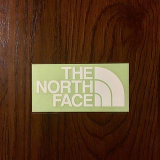 ザノースフェイス(THE NORTH FACE)のノースフェイス カッティングステッカー  白(その他)