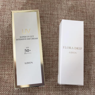 ALBION - アルビオン デイクリーム 化粧液 サンプル 2点セット