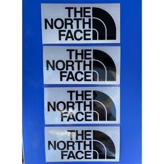THE NORTH FACE - ノースフェイス カッティングステッカー  4枚