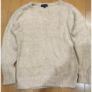ミッシュマッシュ(MISCH MASCH)のMISCH MASCH ベビーピンク×ゴールド糸 セーター(ニット/セーター)