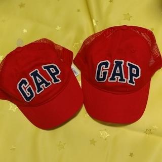 ギャップキッズ(GAP Kids)のGAP キャップ セット レッド キッズ(帽子)