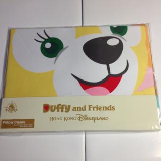 香港ディズニー限定 枕カバー クッキー&ダッフィー 2枚セット 3割引