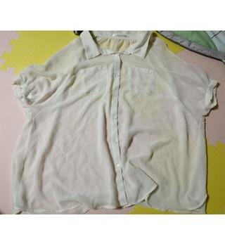 レトロガール(RETRO GIRL)のレトロガール☆肩出しシャツブラウス(シャツ/ブラウス(半袖/袖なし))