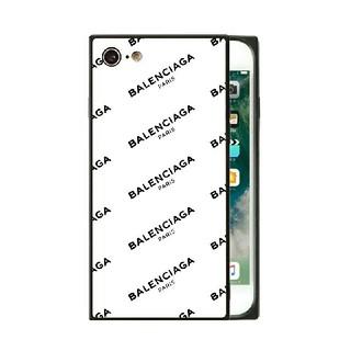 Balenciaga - スクエア ガラスケース iPhoneケース バレンシアガ qnl73b