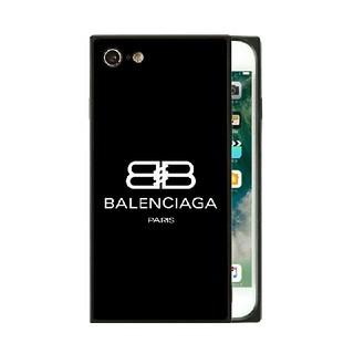 Balenciaga - スクエア ガラスケース iPhoneケース バレンシアガ h3akkk
