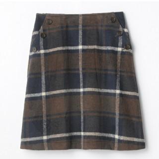 しまむら - プチプラのあや チェック柄スカート