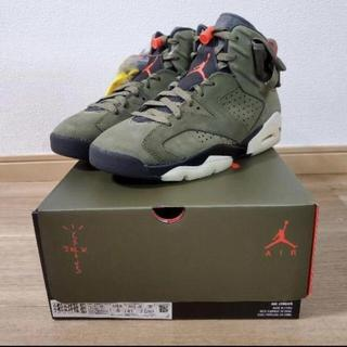 NIKE - NIKE AIR JORDAN6 TRAVIS SCOTT 26 ジョーダン6