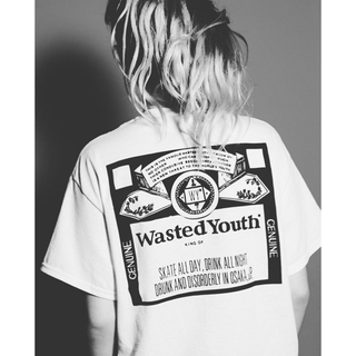 BEAMS - wasted youth Tシャツ Lサイズ KODE PARTY使用